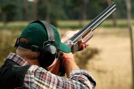 Clay Target Events - Clay Target Shooting Experience with 25 or 35 Targets Each for Two or Four - Save 30%