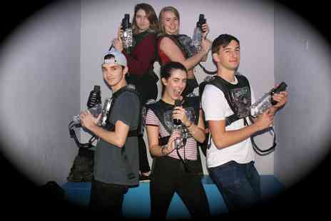 Quasar South Shields - Laser Tag and Amusement Package Card for One or Two - Save 52%