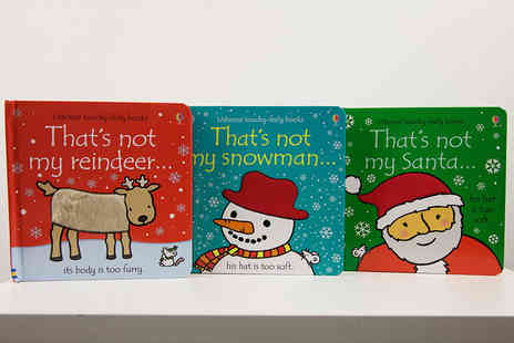 PCS Books - Thats Not my Christmas touchy feely three book collection - Save 12%