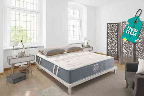 Simpur - Single 11 zone fresh care memory foam mattress plus delivery is Included - Save 87%