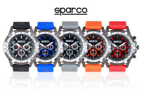 IDT Spa - Sparco watch choose from five colours - Save 0%