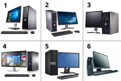 Computers Reborn - 19 inch 320 GB HDD 4GB RAM Dell Optiplex or Lenovo desktop computer choose from six models - Save 80%