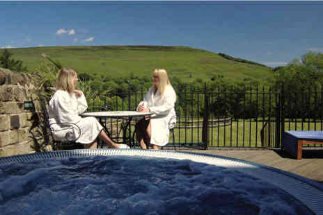 Losehill House Hotel and Spa - Spa experience with refreshments and three course lunch - Save 66%