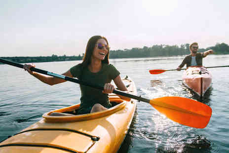 Bridge 8 Hub - Half or full day of kayak, canoe or paddle board hire for one or two - Save 40%