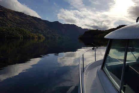 Personal Private Chef - 90 minute private loch cruise for two including a seafood platter to share and a glass of prosecco each - Save 51%