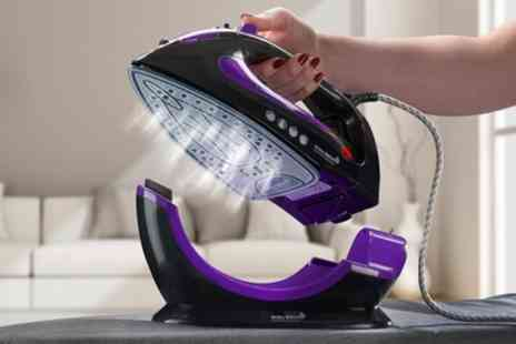 Groupon Goods Global GmbH - One or Two Easy Steam 2200W Corded or Cordless Irons - Save 63%