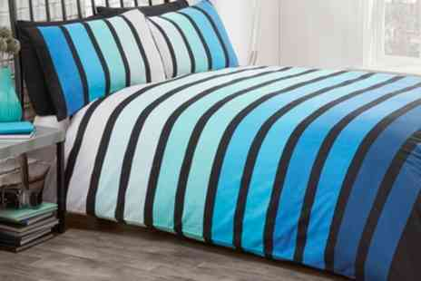 Groupon Goods Global GmbH - Rapport Home Soho Duvet Set in Choice of Size and Colour - Save 71%