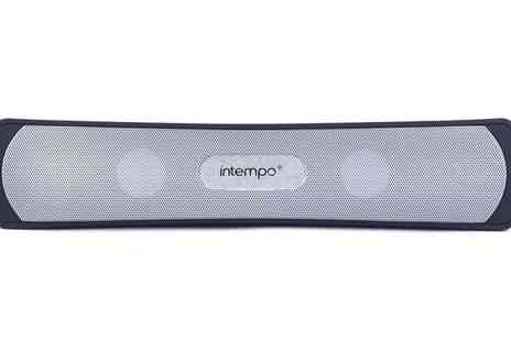 Groupon Goods Global GmbH - Intempo EE1145BLK Black Limbo Bluetooth Speaker - Save 48%