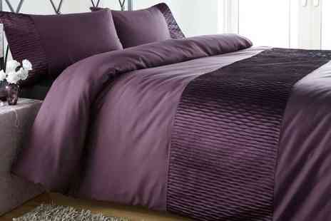 Groupon Goods Global GmbH - Monaco Duvet Sets in Choice of Colour and Size - Save 63%