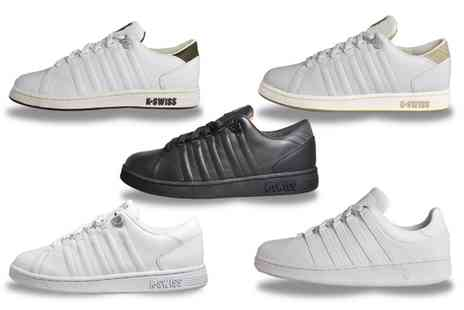 Groupon Goods Global GmbH - Kswiss Mens Lozan and Classic Leather Trainers - Save 59%