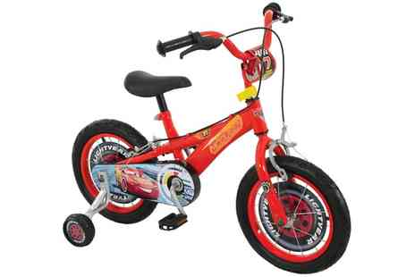 Groupon Goods Global GmbH - Disney Cars Three 14 Inch Bike With Free Delivery - Save 48%