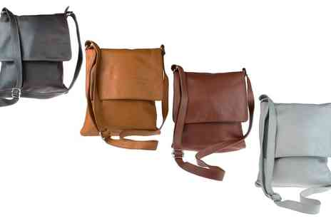 Groupon Goods Global GmbH - Cross Body Leather Shoulder Bag in Choice of Colour - Save 39%