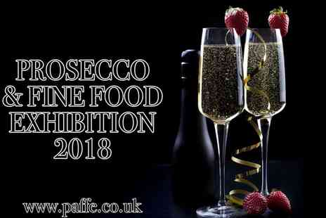 Prosecco & Fine Food Exhibition - One standard admission or VIP ticket to Prosecco & Fine Food Exhibition on 3 February To 23 May 2018 - Save 29%