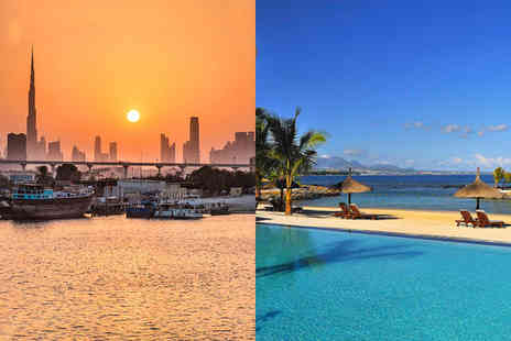 Crowne Plaza Dubai Festival City & InterContinental Mauritius - Five Star Exciting City Break & All Inclusive Beachside Bliss - Save 4%