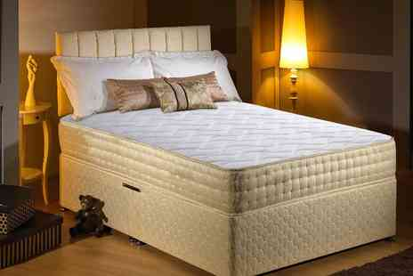 Midnight Dreams - Gold threaded bio-natural memory foam mattress - Save 90%