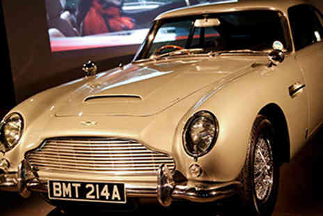 Red Letter Days - Two tickets to the Bond In Motion exhibition and a two course meal - Save 0%