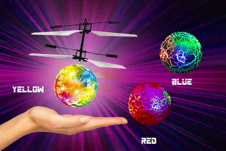 Beauty Bae - Electric RC infrared flying ball with remote control choose from three colours - Save 78%