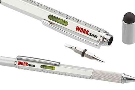 Groupon Goods Global GmbH - One, Two or Four Six in One Construction Tool Pens - Save 70%