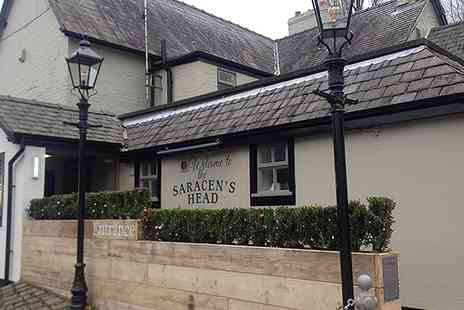Saracens Head Warburton - Afternoon Tea for Two Plus Optional Bottle of Prosecco - Save 0%