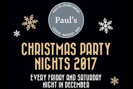 Pauls Kitchen - Great Gatsby Themed Christmas Party for Two or Four at Pauls The Catering Company on 8 To 23 December 2017 - Save 61%