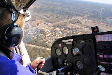 Scenic Air Tours - 15 Minute Pleasure Flight with Choice of Landmarks and Camera Hire for Two - Save 0%