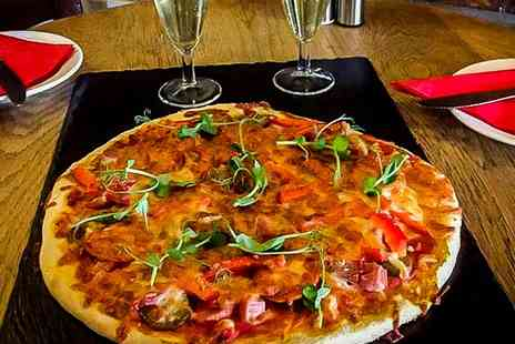 Manor House Hotel - Pizza with Side Dish and Bottle of Prosecco to Share for Two or Four - Save 31%