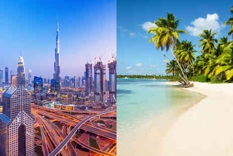 JW Marriott Marquis Dubai - Dazzling 10 Day City Break with Beachfront Luxury and Flights for Two - Save 0%