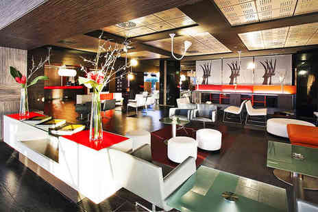 Ilunion Barcelona - Four Star Modern Hotel Stay For Two near Bogatell Beach - Save 80%