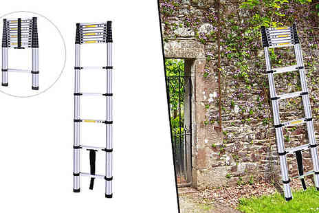 Mscomputers - Telescopic Extendable Ladder Two Lengths - Save 55%