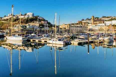 Corbyn Head Hotel & Orchid Restaurant - Beachfront Torquay hotel stay with sea view - Save 44%