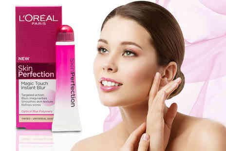 Ckent - 15ml tube of LOreal Paris skin perfection magic touch instant blur - Save 23%