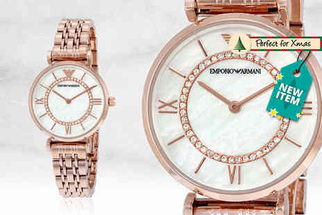 Wristy Business - Ladies Emporio Armani AR1909 watch - Save 51%