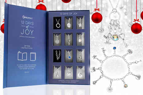 Optima Jewellery - 12 Days of Joy gift box made with crystals from Swarovski - Save 59%