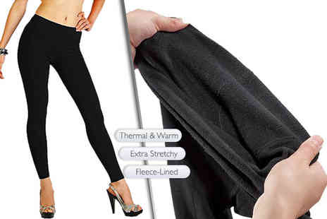 Trifolium Lingerie - 3pk of thermal fleece leggings - Save 38%