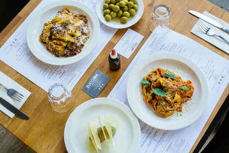 Zucchini Pasta Bar - Three course festive dining for two - Save 33%