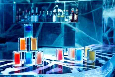 ICEBAR LONDON - Icebar Experience and Cocktail in Warm Bar for Up to Six - Save 28%
