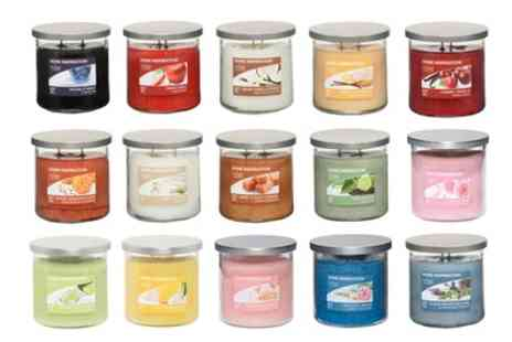 Groupon Goods Global GmbH - Yankee Candle Four Large Two Wick Tumblers - Save 42%