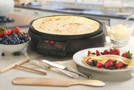 Groupon Goods Global GmbH - Cooks Professional Crepe and Pancake Maker - Save 50%