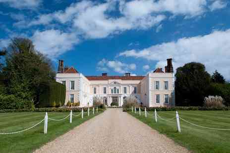 Hintlesham Hall Hotel - One or Two Nights for Two with Breakfast, Wine Credit and Option for Dinner - Save 0%