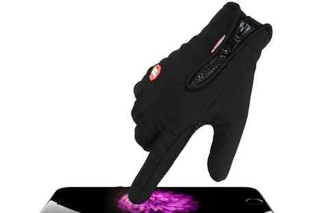 Groupon Goods Global GmbH - Apachie Touchscreen Glove in Choice of Size - Save 60%