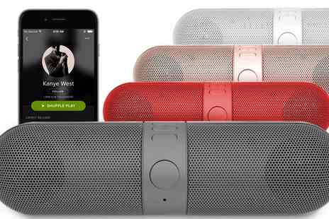 Groupon Goods Global GmbH - One, Two or Four Aquarius Bluetooth Wireless Speakers in Choice of Colour - Save 74%