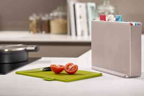 Groupon Goods Global GmbH - Joseph Joseph Index Chopping Board Regular or Compact Size - Save 0%