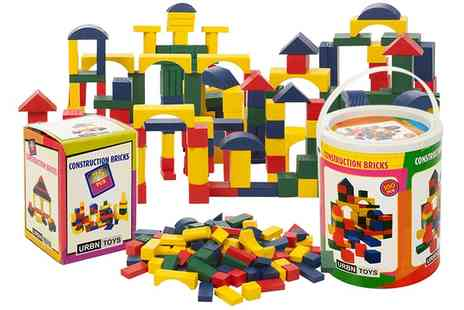 Groupon Goods Global GmbH - Toy Wooden Building Block Set - Save 60%