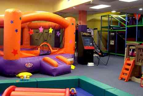 Fantastic Indoor Inflatable World - Fantastic Inflatable World Ticket for One or Family of Four to Ten - Save 0%