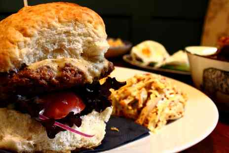The Curfew - Burger, Chips and Wine for Two or Four - Save 47%