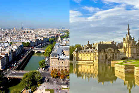 Magenta 38 and Dolce Chantilly 3 - Three or Four Star Romantic Parisian Hotel and a Grand Chateau Stay - Save 59%