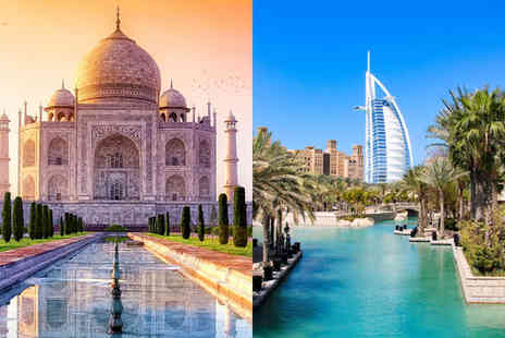 Indian Golden Triangle and Dubai Stopover - Enchanting India Discovery and Glamorous Dubai - Save 30%
