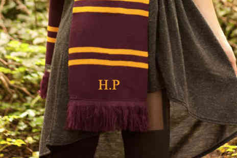 Treats on Trends - Personalised Harry Potter Inspired Scarf - Save 50%