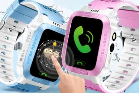H&C Electronics - Kids Smart Watch with GPS Tracker, Camera and Games Available in Two Colours - Save 81%