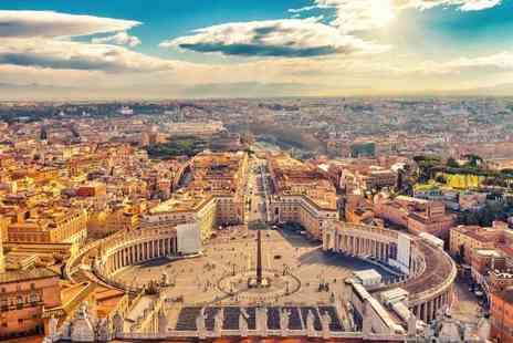 Crystal Travel - Two or three night 4 Star Rome break with breakfast, Vatican City tour and flights - Save 35%